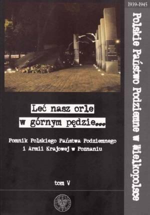 Pomnik Polskiego Państwa Podziemnego - okładka książki