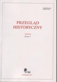 Przegląd Historyczny. Tom CIII. Zeszyt 2 / 2012 - okładka książki