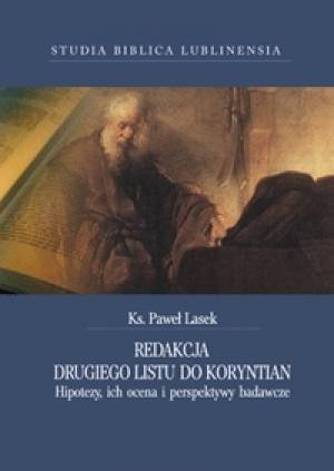 Redakcja Drugiego Listu do Koryntian - okładka książki