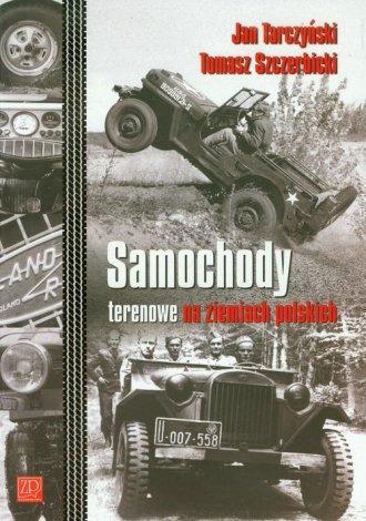 Samochody terenowe na ziemiach - okładka książki