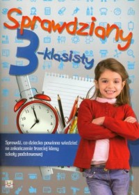 okładka podręcznika - Sprawdziany 3-klasisty