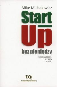 Start up bez pieniędzy - okładka książki