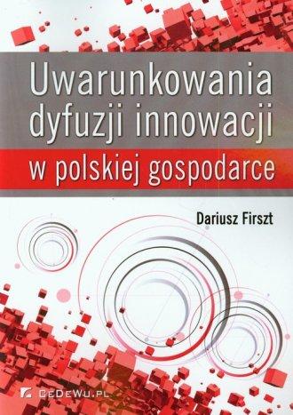 Uwarunkowania dyfuzji innowacji - okładka książki