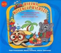 Wielka kolekcja wierszy. Czytają: Piotr Fronczewski, Maciej Damięcki, Wiktor Zborowski - pudełko audiobooku