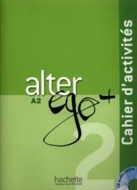 Alter Ego 2. Ćwiczenia (+ CD) - okładka podręcznika