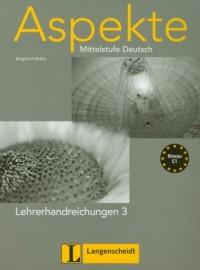 Aspekte 3 Lehrerhandreichungen. - okładka podręcznika