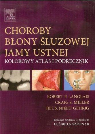 Choroby błony śluzowej jamy ustnej. - okładka książki