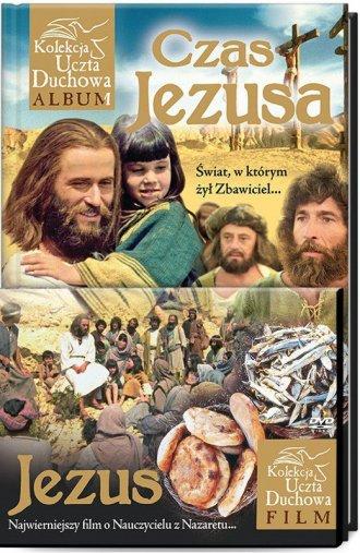 Czas Jezusa (+ DVD) - okładka książki