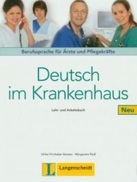Deutsch im Krankenhaus Neu Lehr- - okładka podręcznika