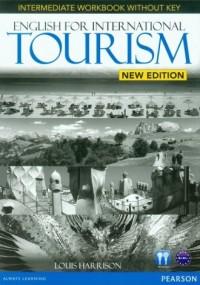 English for International Tourism. New Intermediate Workbook. B1-B1+ - okładka podręcznika