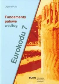 Fundamenty palowe według Eurokodu - okładka książki