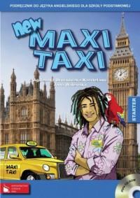 New maxi taxi. Starter. Podręcznik do języka angielskiego dla szkoły podstawowej - okładka podręcznika