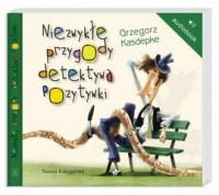 Niezwykłe przygody detektywa Pozytywki - pudełko audiobooku
