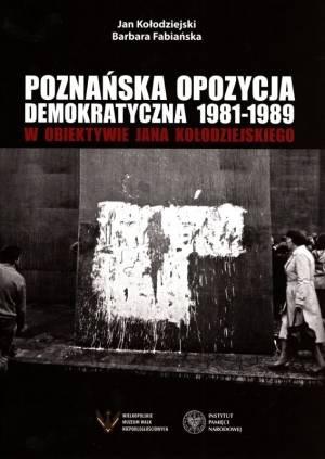 Poznańska opozycja demokratyczna - okładka książki