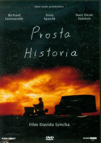 Prosta historia (DVD) - okładka filmu