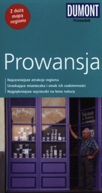 Prowansja. Przewodnik z mapą regionu - okładka książki