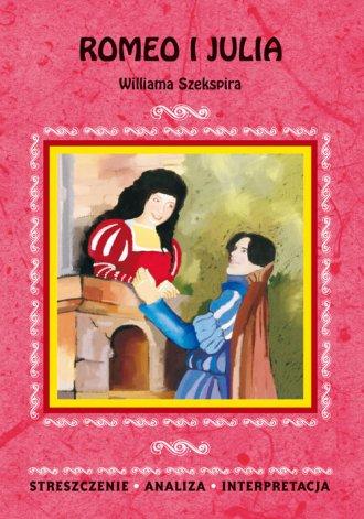 Romeo i Julia Williama Szekspira. - okładka podręcznika