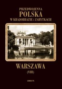 Warszawa. Przedwojenna Polska w - okładka książki
