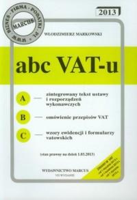 ABC VAT-u 2013 - okładka książki