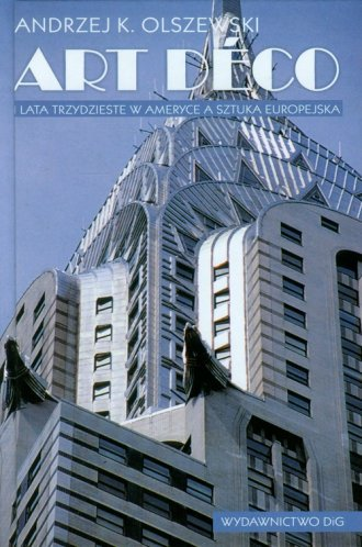 Art deco i lata trzydzieste w Ameryce - okładka książki