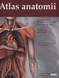Atlas anatomii - okładka książki