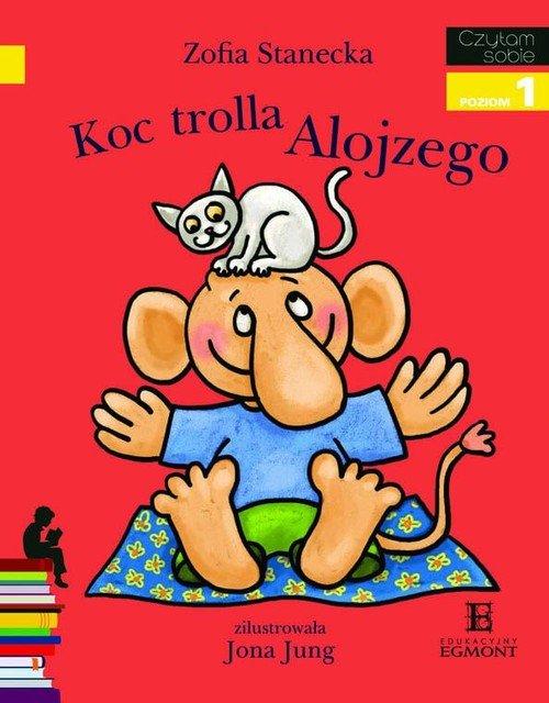 Czytam sobie. Poziom 1. Koc trolla - okładka podręcznika