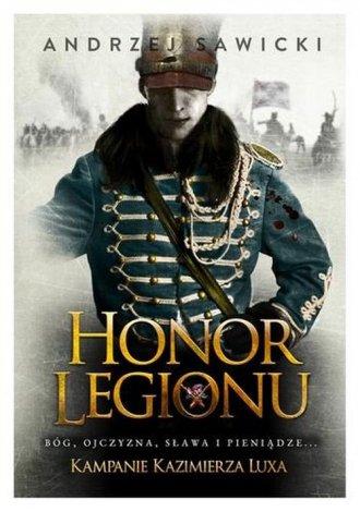 Kampanie Kazimierza Luxa. 1. Honor - okładka książki