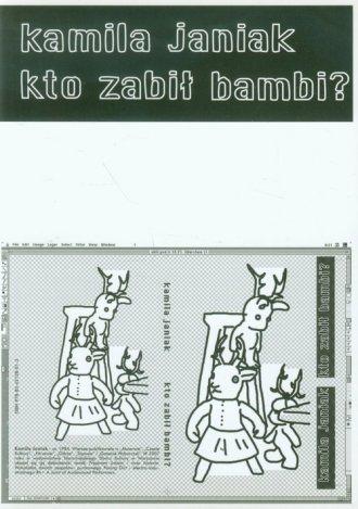 Kto zabił bambi - okładka książki