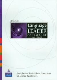 Language Leader Advanced SB (+ CD-ROM) - okładka podręcznika