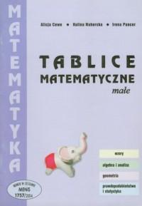 Małe tablice matematyczne - okładka podręcznika