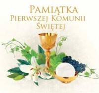 Pamiątka Pierwszej Komunii Świętej - Wydawnictwo - okładka książki