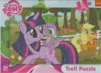 W sadzie. My Litle Pony (puzzle ramkowe - 15 elem.) - zdjęcie zabawki, gry
