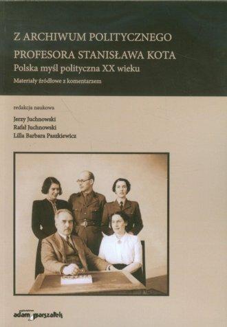 Z archiwum politycznego profesora - okładka książki