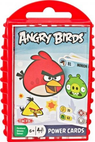 Angry Birds. Power Cards - zdjęcie zabawki, gry