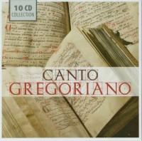 Canto Gregoriano - okładka płyty