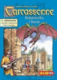 Carcassonne. Księżniczka i Smok. 3 rozszerzenie - zdjęcie zabawki, gry