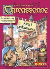 Carcassonne. Kupcy i Budowniczowie. 2 rozszerzenie - zdjęcie zabawki, gry