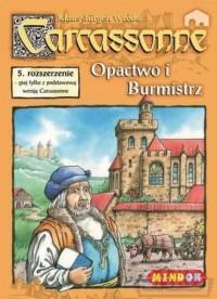 Carcassonne. Opactwo i Burmistrz. 5 rozszerzenie - zdjęcie zabawki, gry