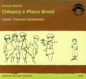 Chłopcy z Placu Broni (CD mp3) - pudełko audiobooku