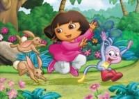 Dora i króliki (puzzle maxi) - zdjęcie zabawki, gry