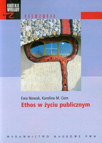 Ethos w życiu publicznym - okładka książki