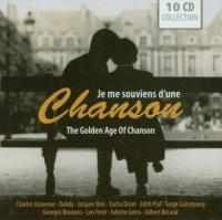 Golden Age of Chanson (CD audio) - okładka płyty