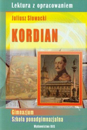 Kordian. Juliusz Słowacki. Lektura - okładka podręcznika
