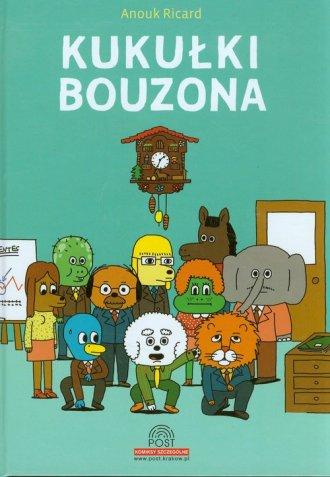 Kukułki Bouzona - okładka książki