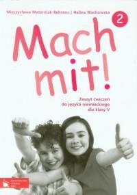 Mach mit! 2. Klasa 5. Szkoła podstawowa. Zeszyt ćwiczeń - okładka podręcznika