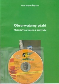 Obserwujemy ptaki (+ CD) - okładka książki