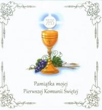 Pamiątka mojej Pierwszej Komunii Świętej. KOMPLET 2 KSIĄŻEK W ETUI - okładka książki