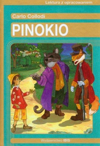 Pinokio. Carlo Collodi. Lektura - okładka podręcznika