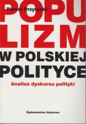 Populizm w polskiej polityce - okładka książki