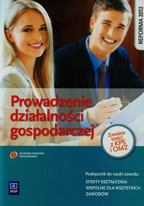 Prowadzenie działalności gospodarczej. - okładka podręcznika